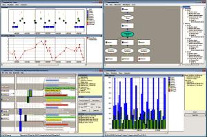 RTXC System Trace screen shots