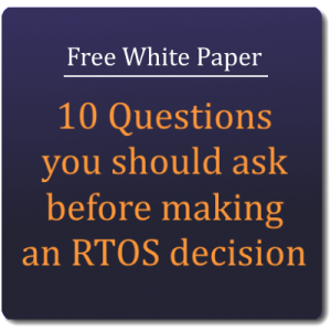 RTOS Decision Process